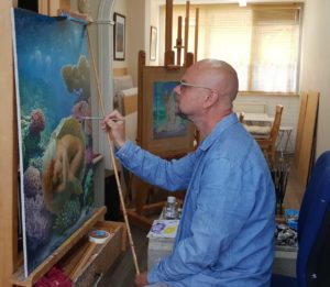 Herman Smorenburg fijnschilderen