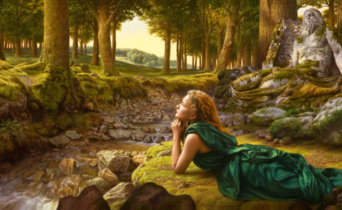 De ziel van het woud
