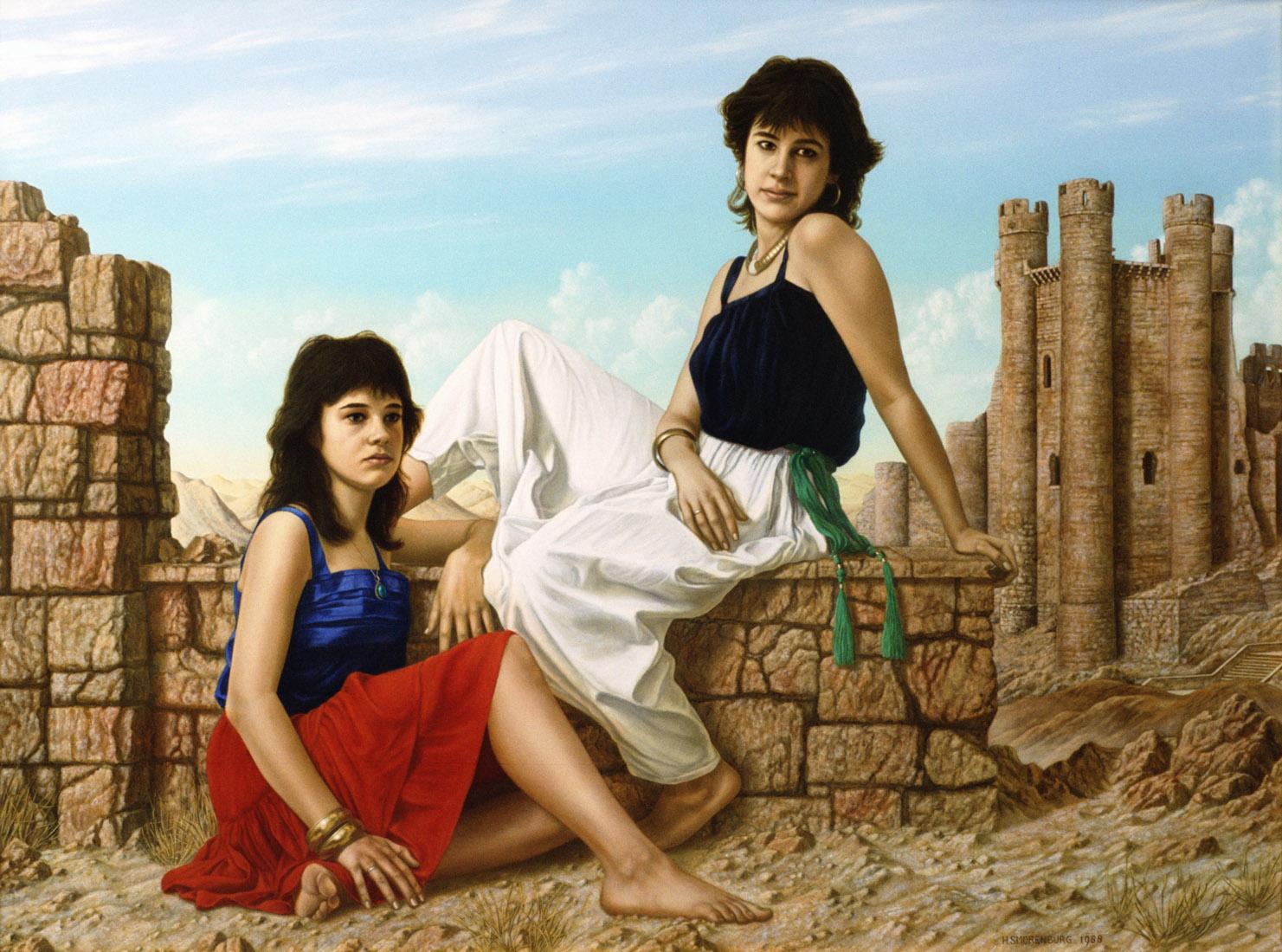 De zusjes Egas 1980-1990